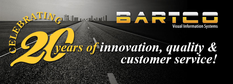 BARTCO - Celebrating 20 years of innovation, quality & customer service